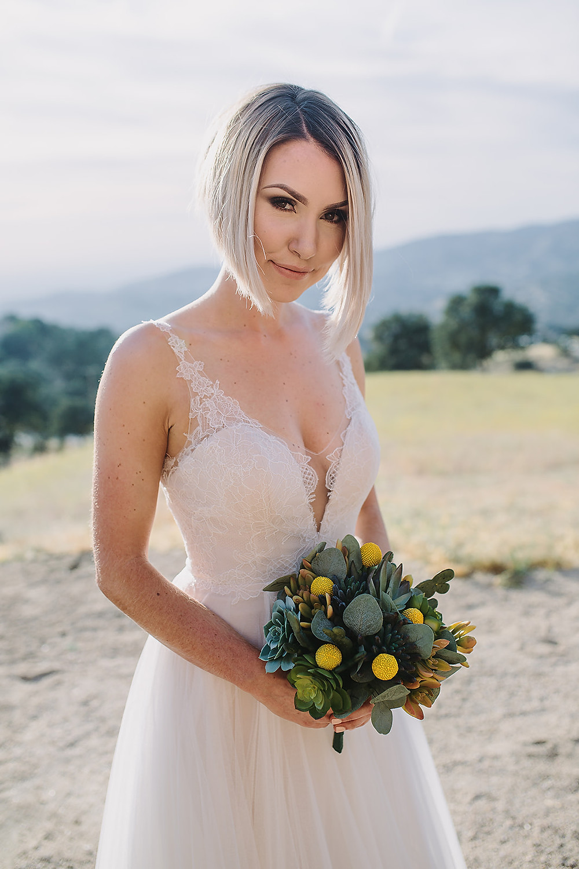 Wedding Dress in Malibu
