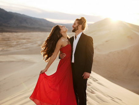Sand dunes | Death Valley elopement