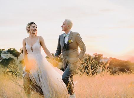 Modern LGBT Wedding, Malibu Hills | Sarah + Corrie