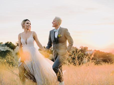 Modern LGBT Wedding, Malibu Hills   Sarah + Corrie