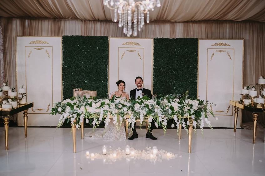 Gardens of Paradise Wedding Reception