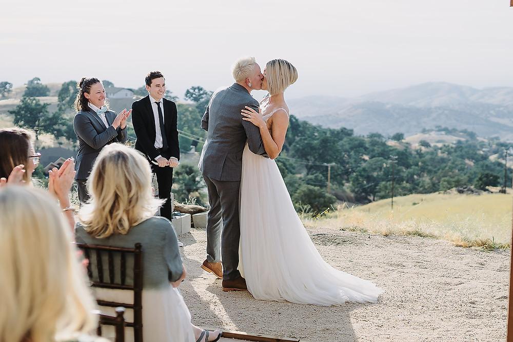 Rustic Style Wedding Ceremony