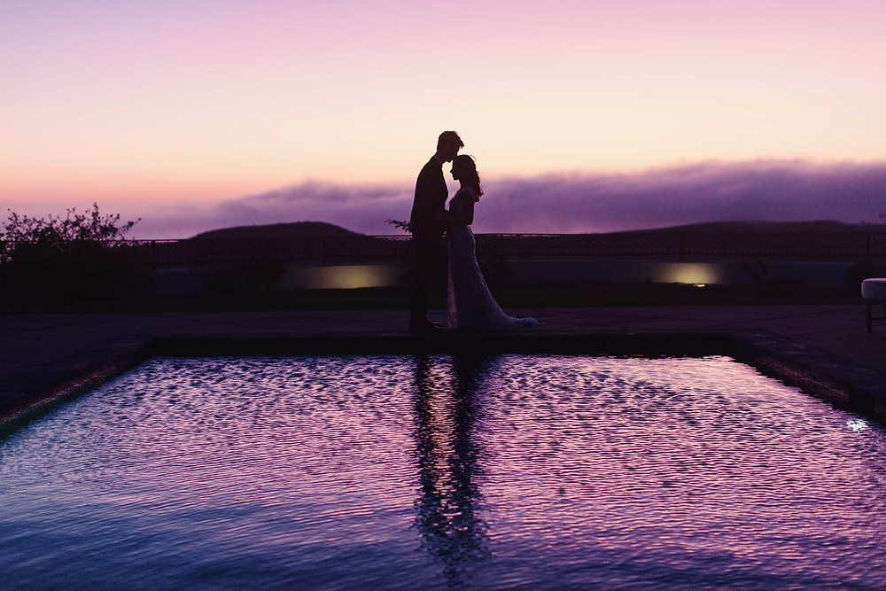 Golden Rustic Malibu Wedding