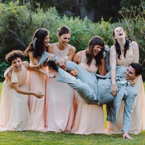 Bridal Party Funny shots