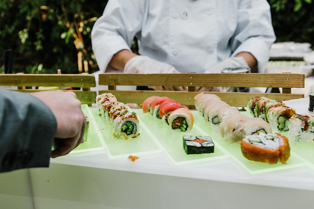 Fresh Sushi at Simi Valley Resort