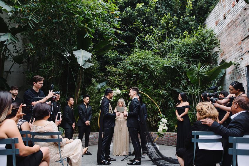 Millwick Wedding Ceremony