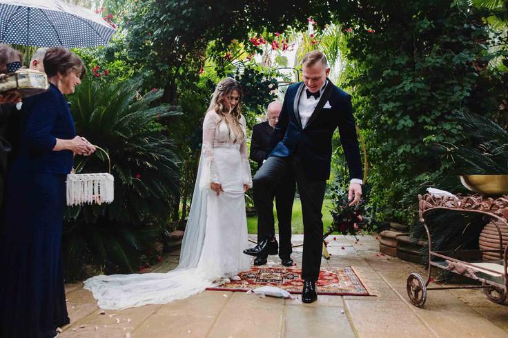 Palm Springs Wedding Ceremony