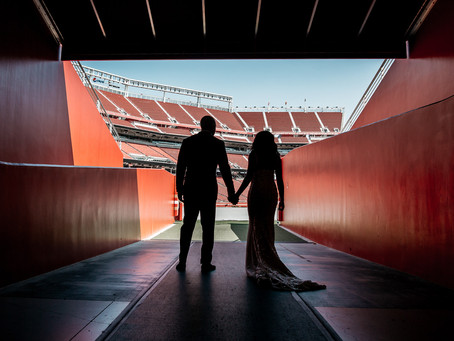 Levi's Stadium & Paradise ballroom | SF wedding