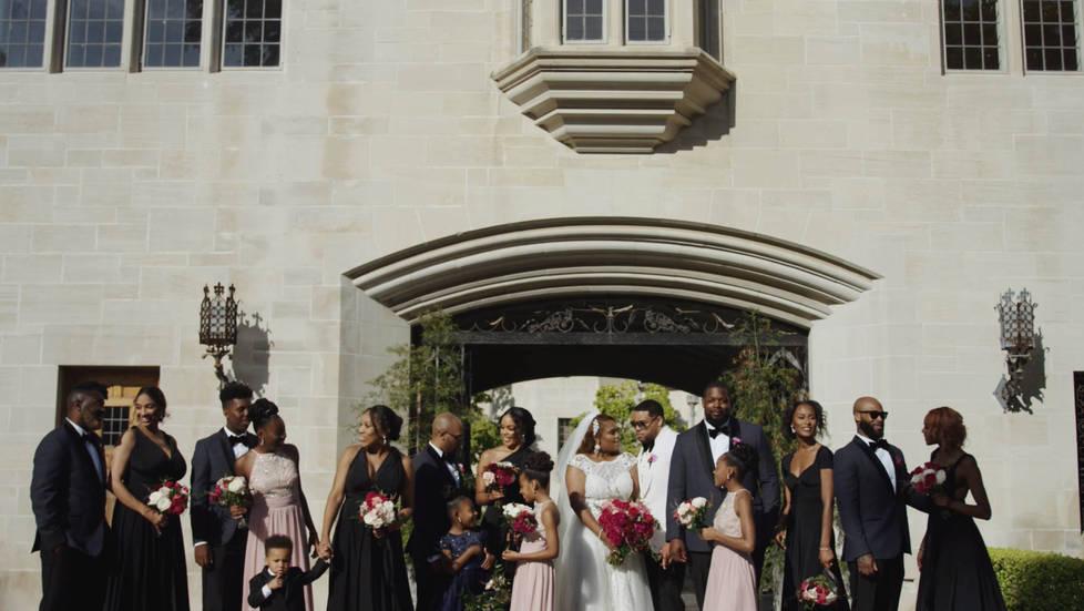 Greystone Mansion Wedding Photography Spots