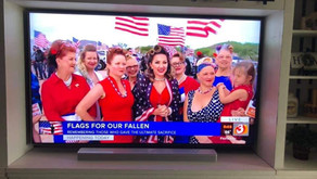 Combat Dolls at Flags for Our Fallen