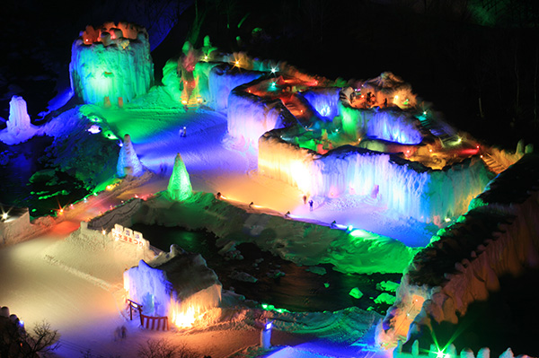 Sounkyou Ice Festival
