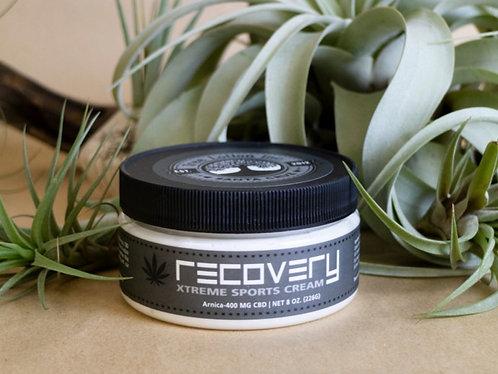 Recovery Sports Cream  8 oz. - 400mg CBD