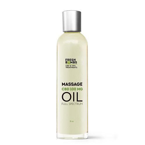 Fresh Bombs CBD Massage Oil - 100mg