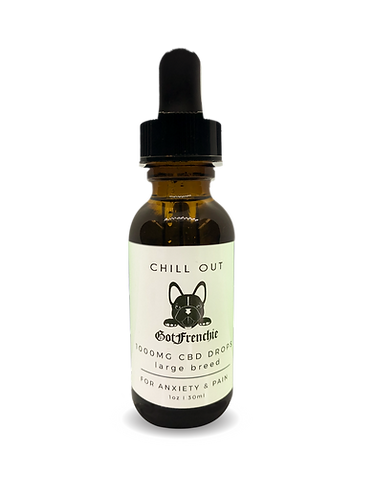 Chill Out - 1000MG CBD drops for Large breeds