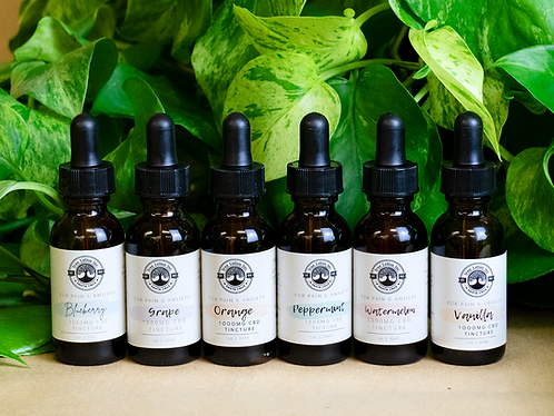 Flavored CBD Tinctures - 1000mg