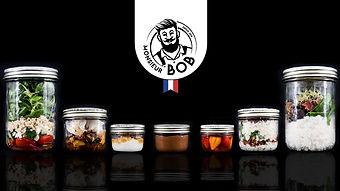 Monsieur BoB _ Repas Bocal Livraison