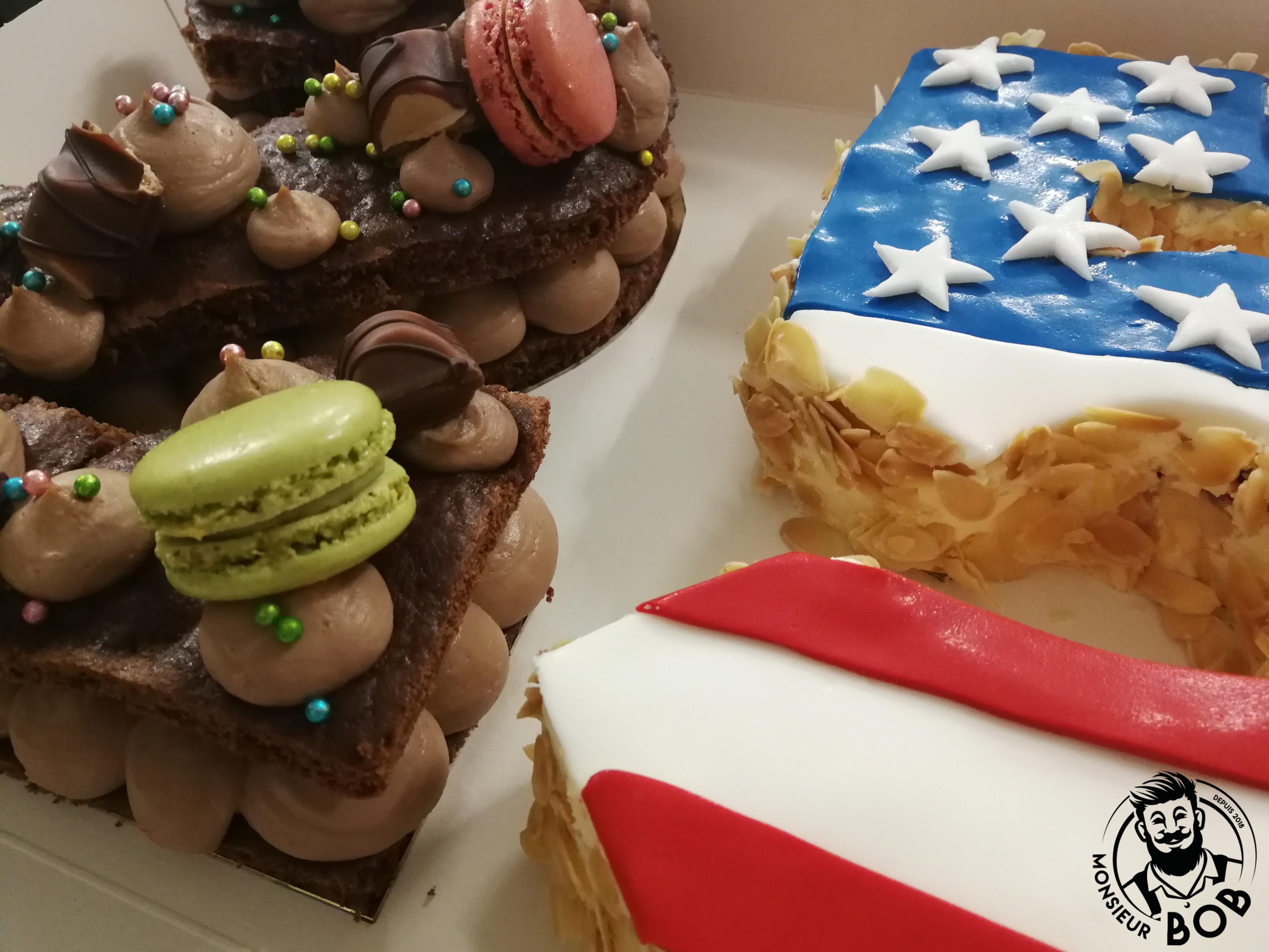 Monsieur BoB | Number Cake