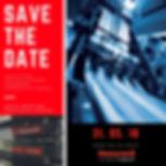 Flyer invitation communication evenementiellle