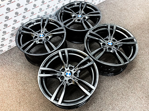 "18"" GENUINE BMW 425 ALLOY WHEELS"