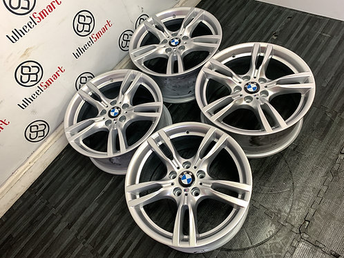 "18"" GENUINE BMW M SPORT ALLOY WHEELS"