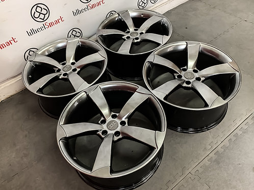"20"" AUDI ROTER V1 STYLE ALLOY WHEELS"