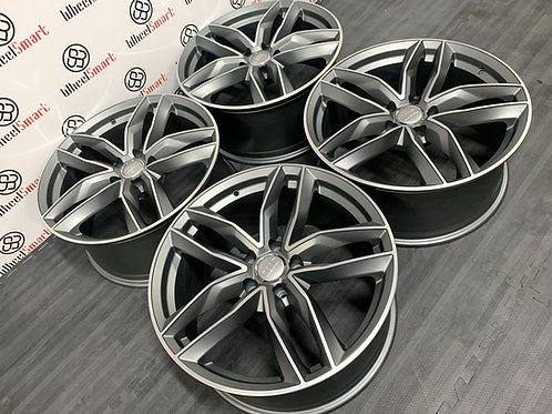"22"" AUDI RS V1 STYLE ALLOY WHEELS"