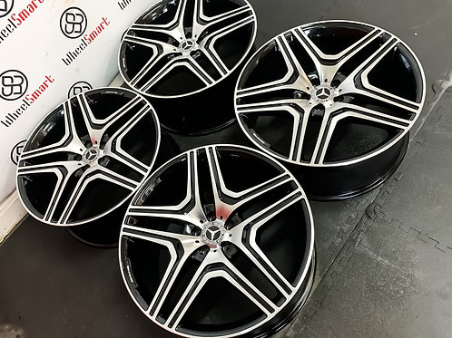 "22"" MERCEDES ML63S STYLE ALLOY WHEELS"