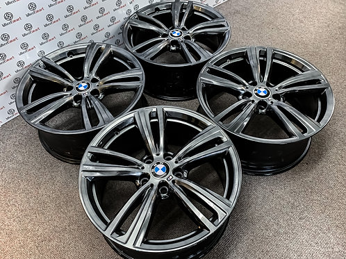 "19"" GENUINE BMW 442 ALLOY WHEELS"