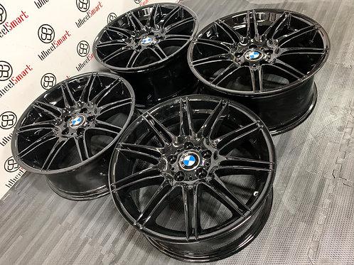"19"" GENUINE BMW MV4 ALLOY WHEELS"