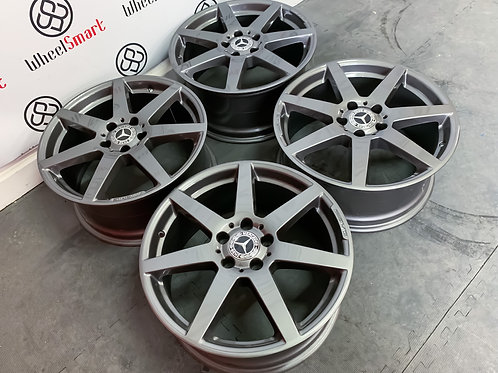 "18"" GENUINE MERCEDES AMG C7 AMG ALLOY WHEELS"