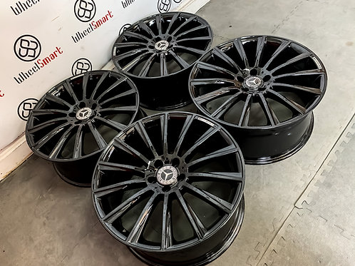 "19"" MERCEDES AMG TURBINE STYLE ALLOY WHEELS"