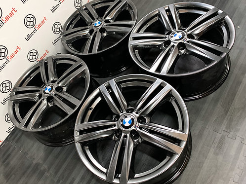 "18"" GENUINE BMW M SPORT F20 ALLOY WHEELS"