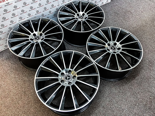 "20"" MERCEDES AMG TURBINE STYLE ALLOY WHEELS"