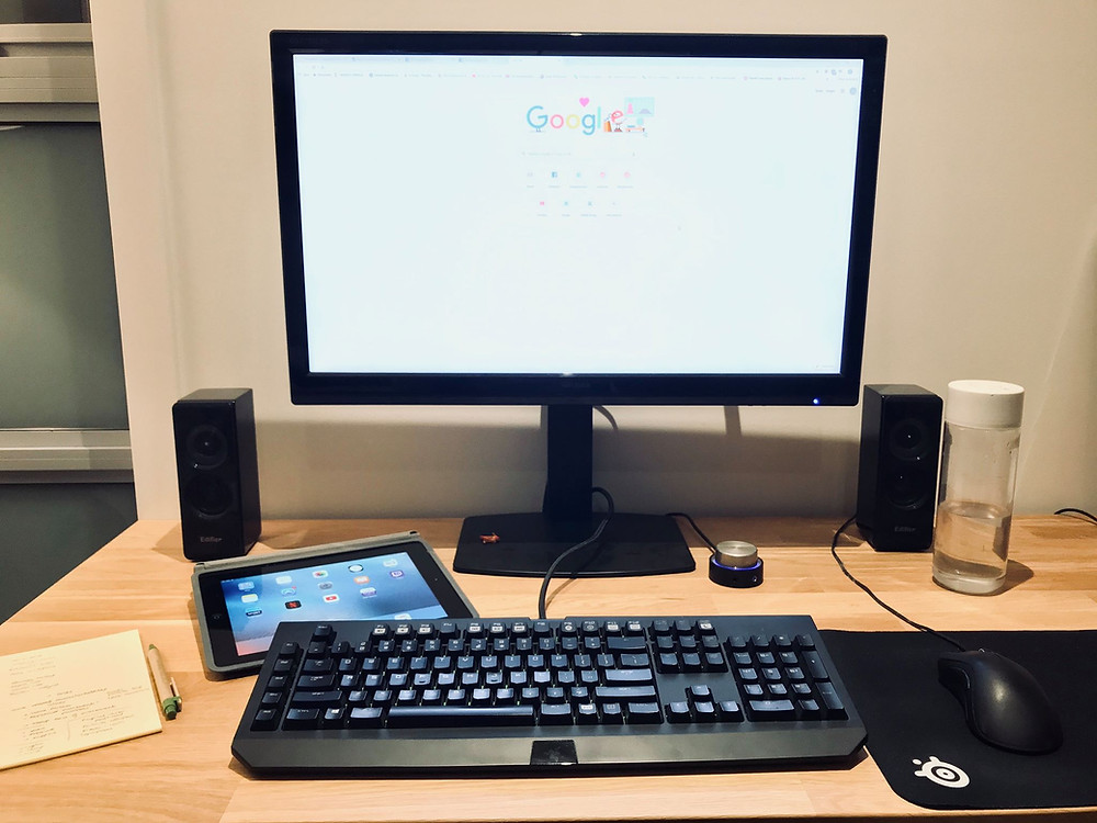 Good computer ergonomic setup for your home office