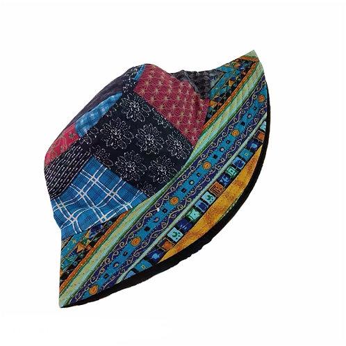 Patchwork Bucket Hat