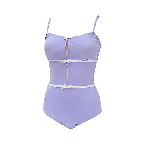 Purple Cute Strap Swimsuits