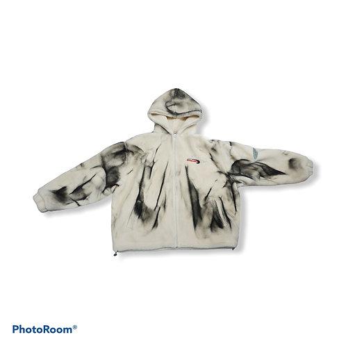 Unisex oversized soft fluffy jacket with hoodie