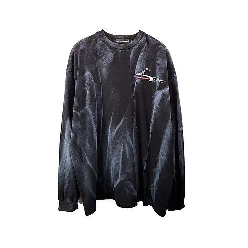 Black bleached jumper