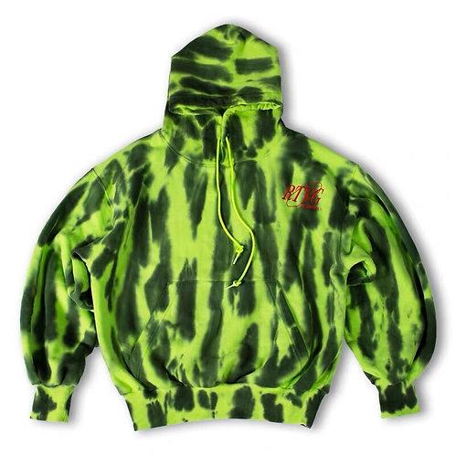 RTVG Unisex Watermelon Print Tie Dye Hoodie
