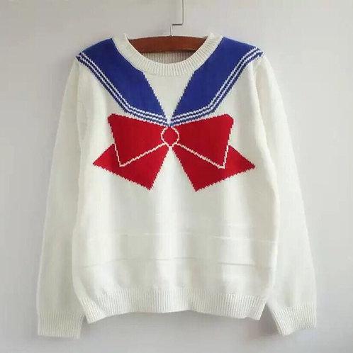 Sailor moon Bowknot Sweater