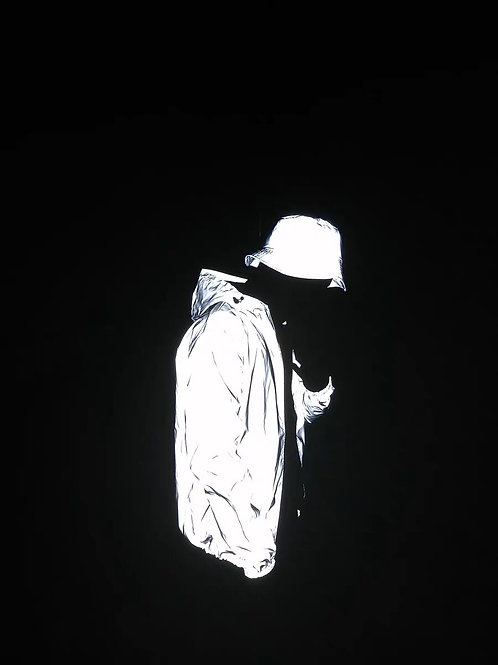 Unisex 3M Reflective Bucket Hat