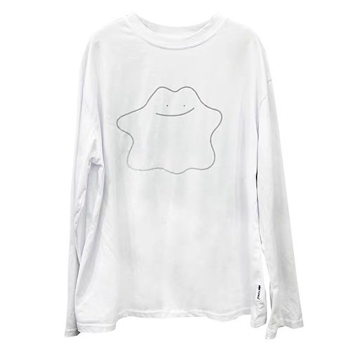 White Shirt with 3M Reflective Ditto