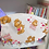 Thumbnail: Cotton Face Mask with Teddy Bear Print