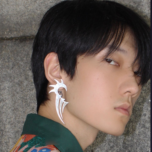 Specular Reflective Rave Earring (one pair)