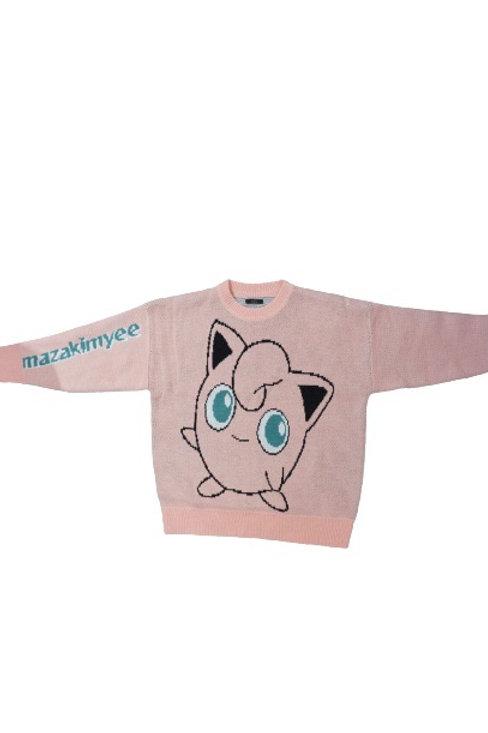 Pink Pokemon sweater