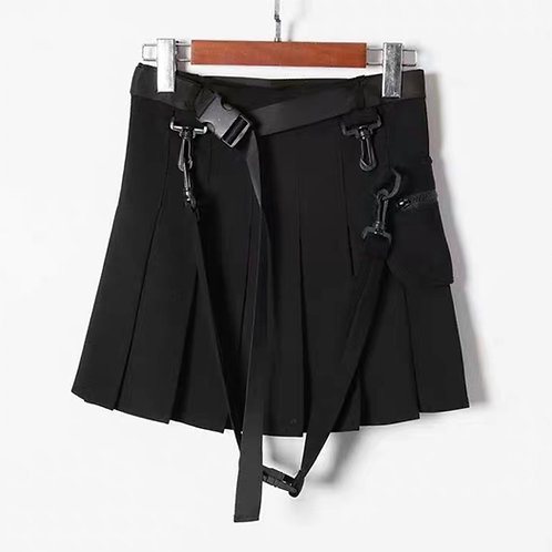 Skirt with Removable Belt and Bag