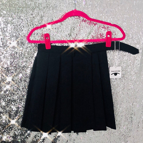Black Half Way Skirt