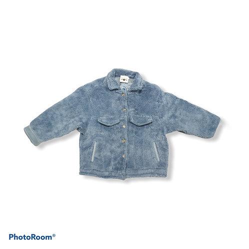 Blue fluffy jacket