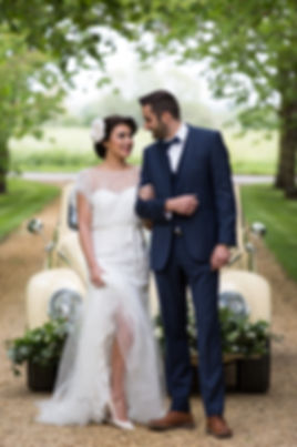 VW Beetle Wedding Car, Cambridge