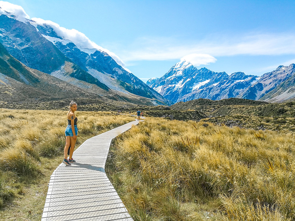 Aoraki/Mount Cook Hooker Valley walk